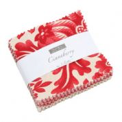 "Cinnaberry - Mini Charm by 3 Sisters for Moda Fabrics - 42 x 2.5"" fabric squares"